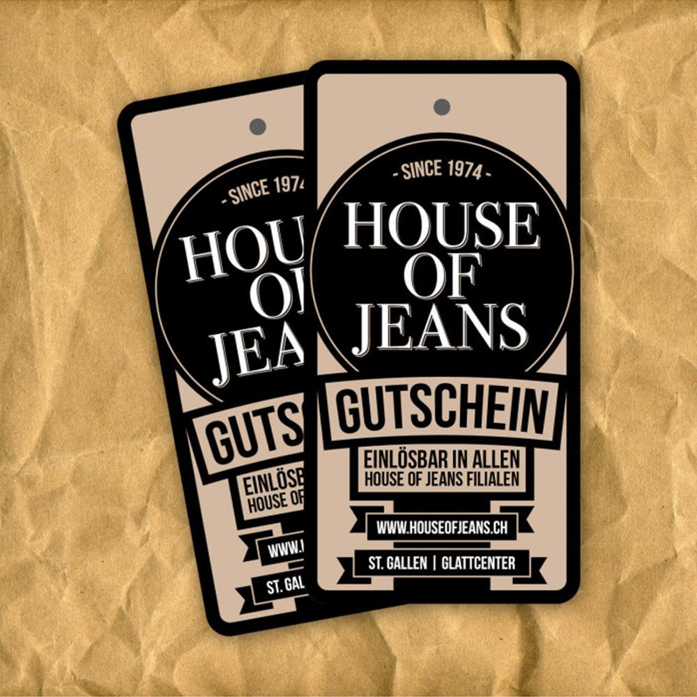 House of Jeans Gutschein