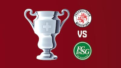 In der 2. Cuprunde gegen den FC Winterthur