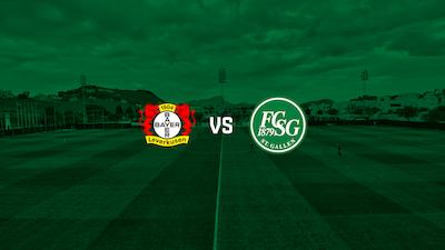 Bayer 04 Leverkusen - FC St.Gallen 1879 auf FCSG.TV