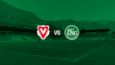 Testspiel gegen Vaduz im Re-Live auf FCSG.TV